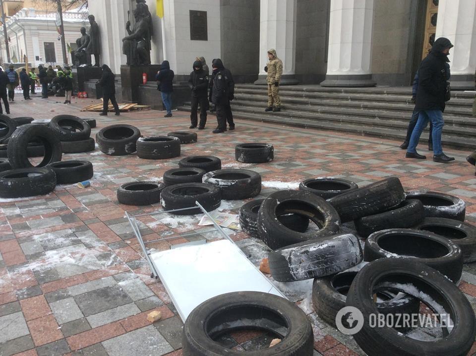Под Радой произошла стычка: множество раненых и задержанных