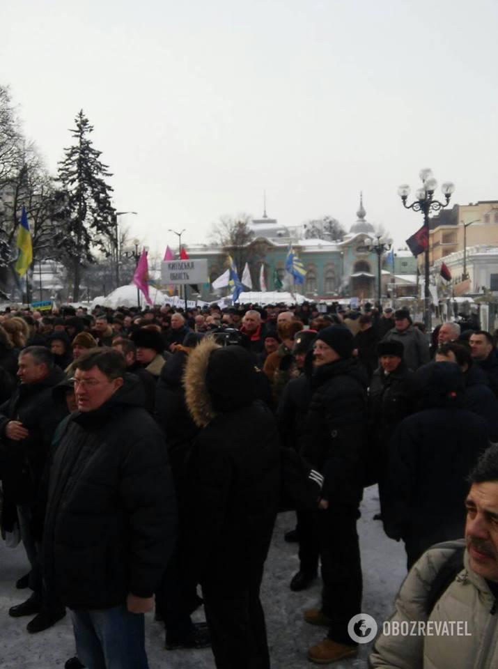 Мітинг під Верховною Радою 27.02.2018