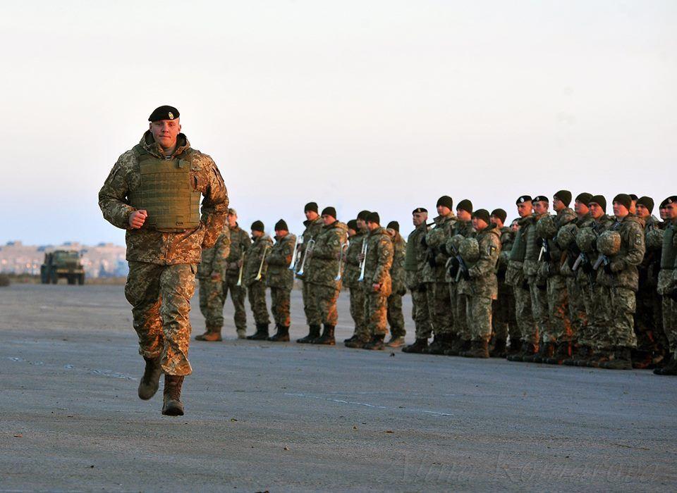 Командир 503 отдельного батальона морской пехоты Вадим Сухаревский