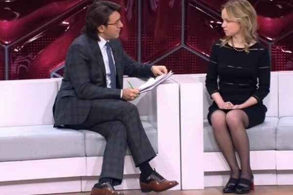Андрей Малахов и Виталина Цымбалюк-Романовская