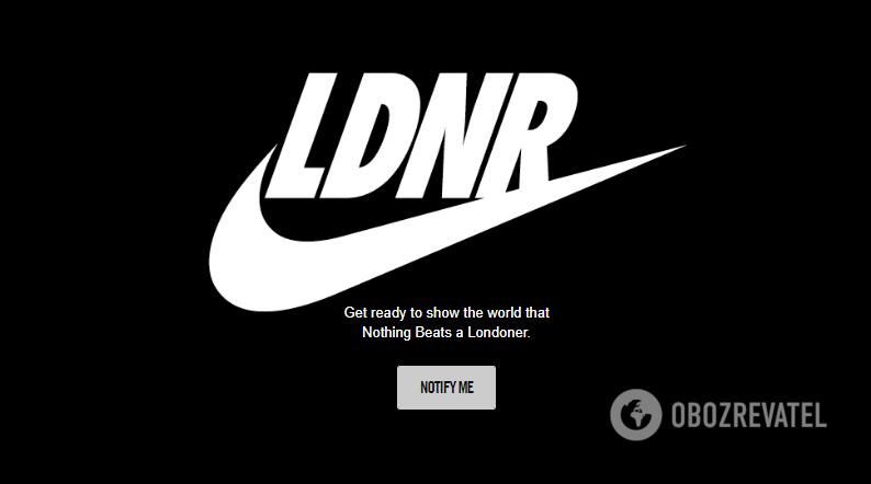Новый логотип Nike
