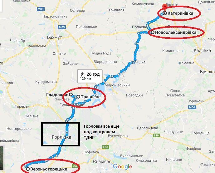 Час до Луганска: появилось свидетельство новых успехов сил АТО на Донбассе