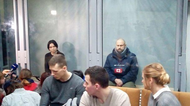 ДТП на Сумской: появились фото Зайцевой и Дронова на одной скамье подсудимых