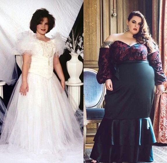 155-килограммовая модель показала, как выглядела до набора веса