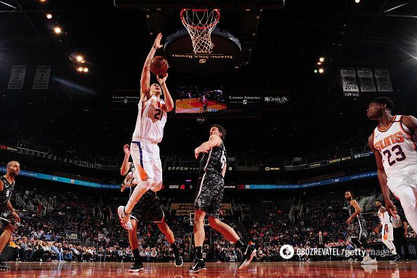 Украинец Лэнь стал лучшим в матче НБА