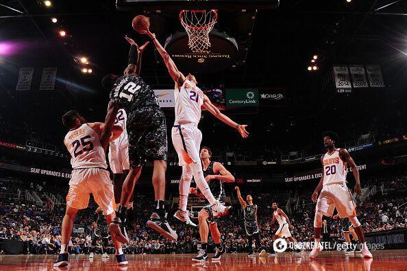 Українець Лень став кращим в матчі НБА