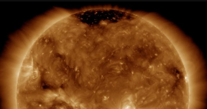 Снижение активности Солнца