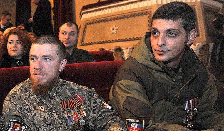 Арсен Павлов (Моторола) и Михаил Толстых (Гиви)