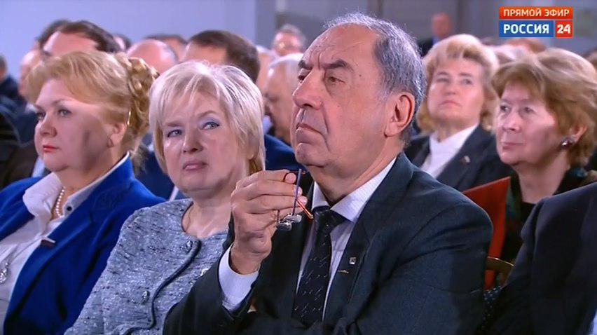 Слухачі послання Путіна