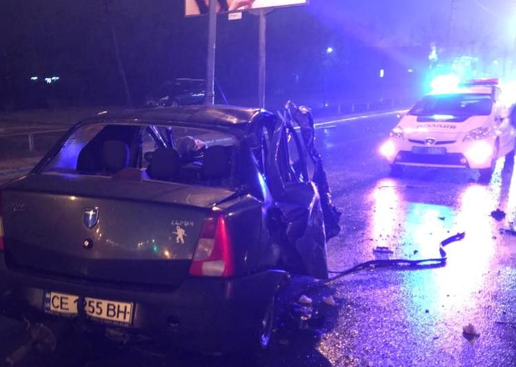 Разбитая Dacia