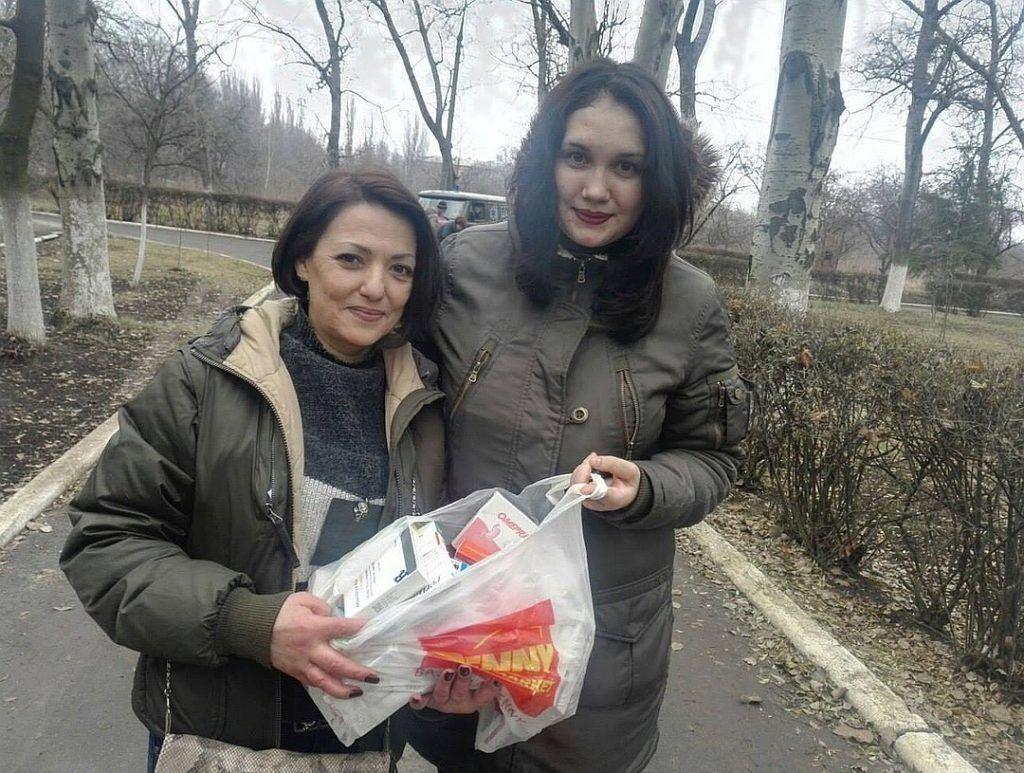 Вікторія Іванова (ліворуч) і Світлана Акімченкова