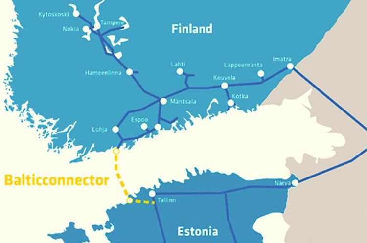 Газопровод без РФ: Эстония разрешила построить Balticconnector