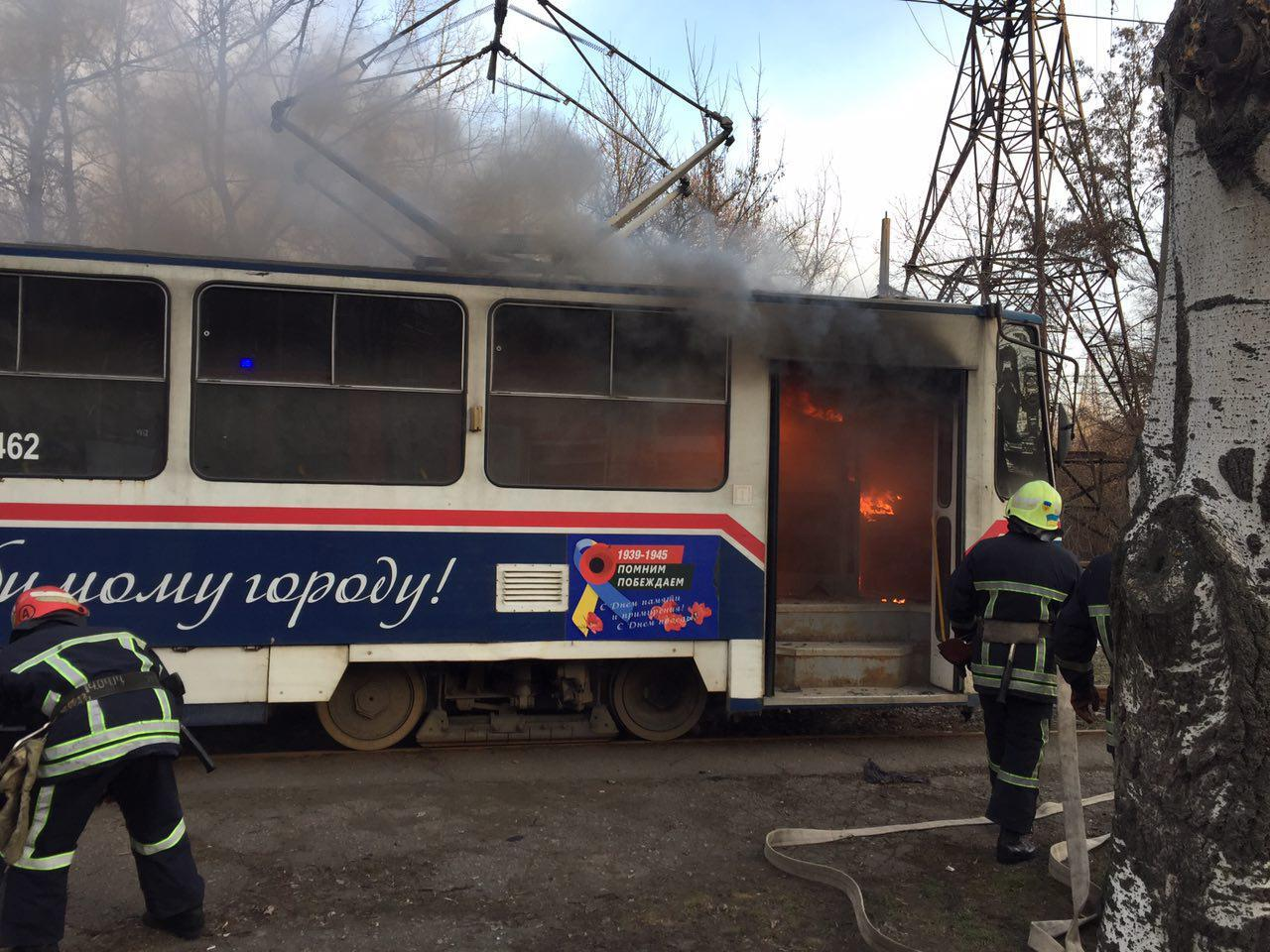 Спасатели озвучили причину ЧП в трамвае и опубликовали фото