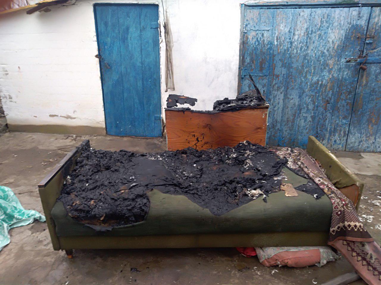 В Запорожской области мужчина погиб на диване перед телевизором (ФОТО)