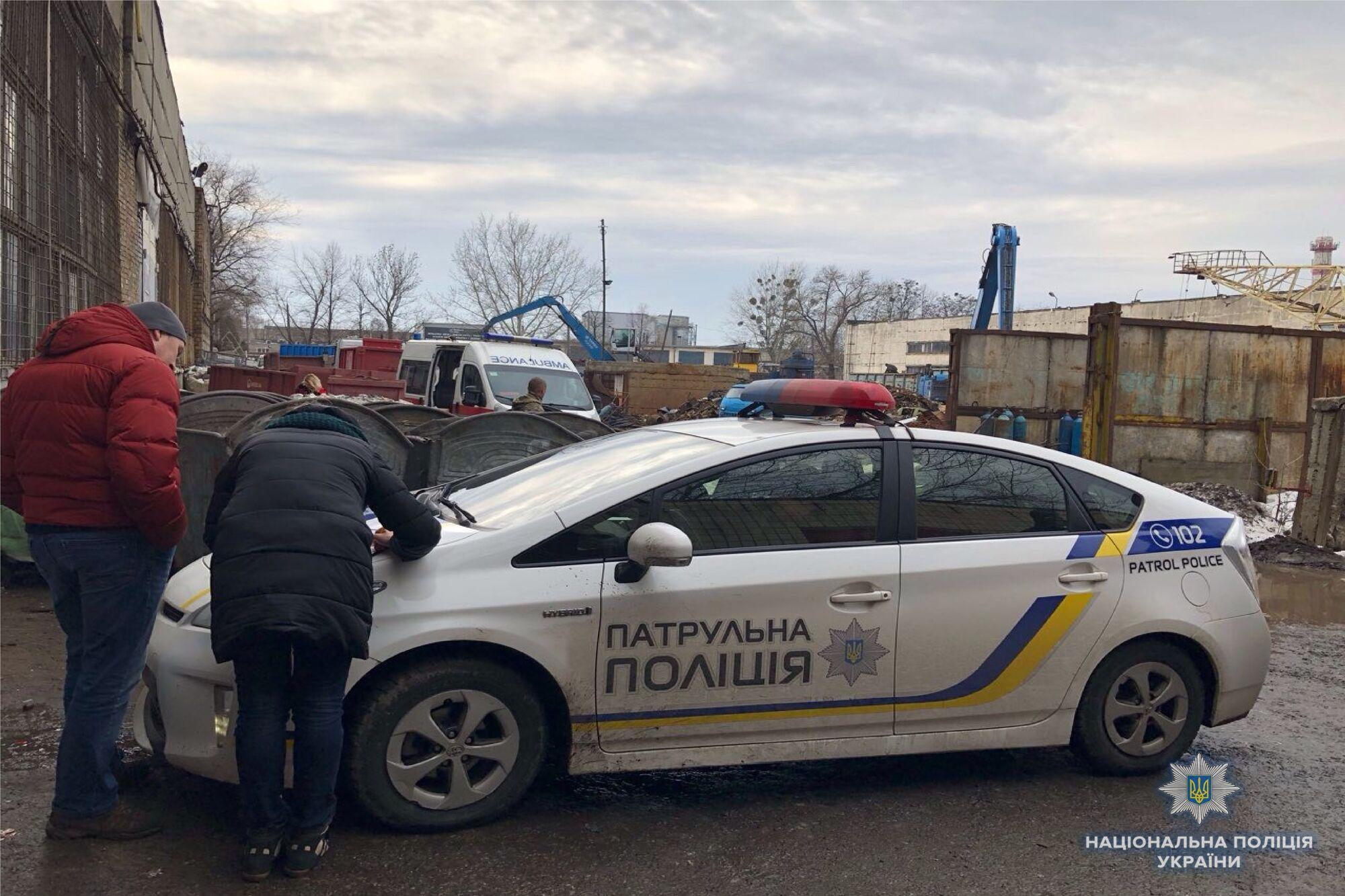 В Киеве нашли тело младенцав мусорном контейнере