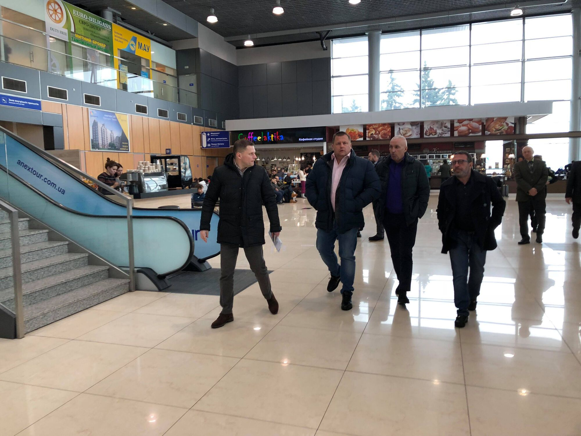 Філатов обговорив з Ярославським будівництво міжнародного аеропорту в Дніпрі