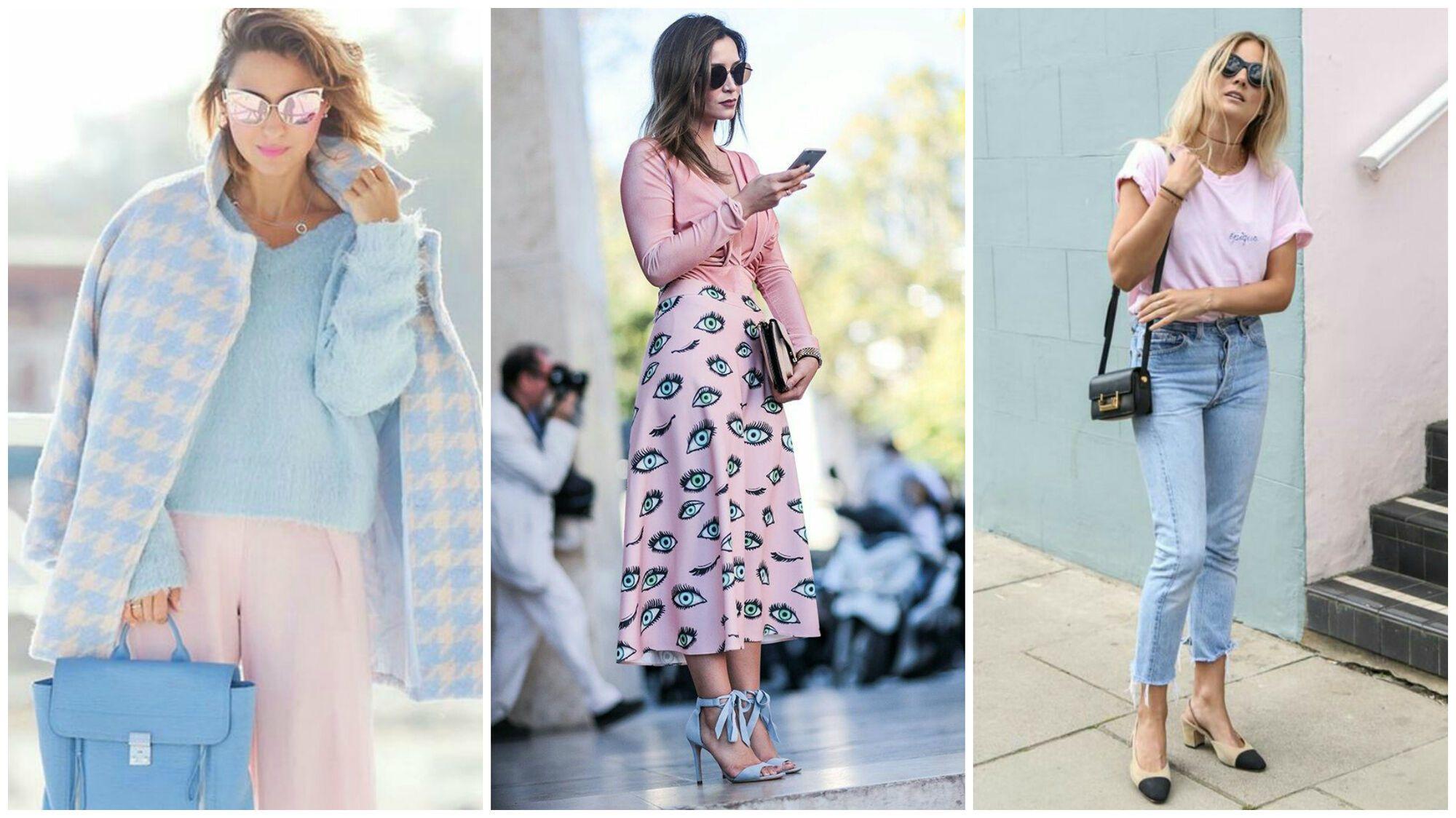 С чем носить самый модный цвет весны