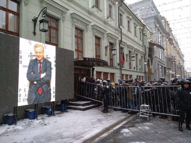 Прощання з Олегом Табаковим