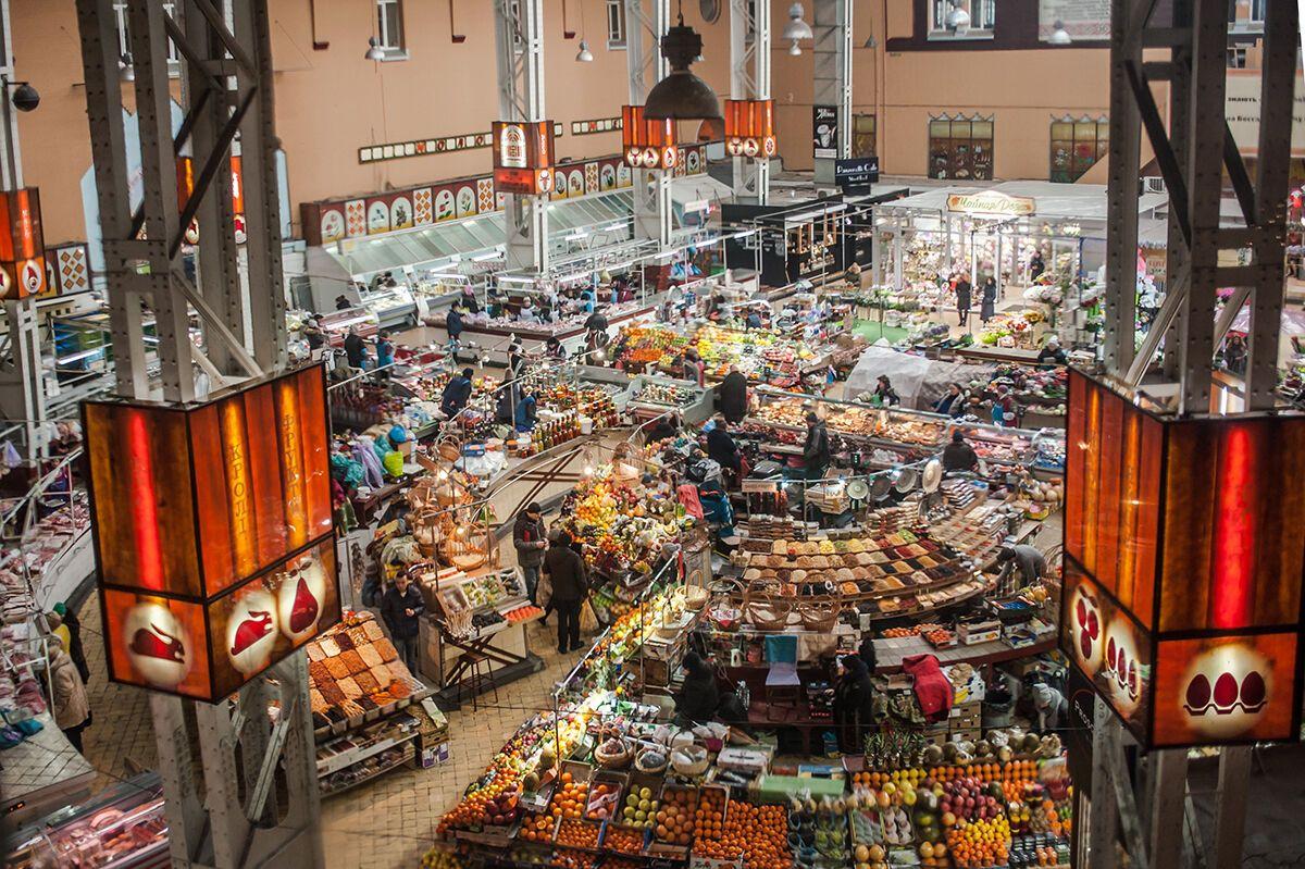 Фуд-корт и подземная парковка: как изменится Бессарабский рынок