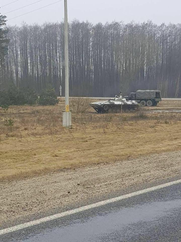 Что же российские войска делали в Беларуси