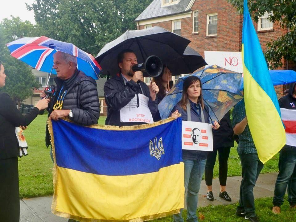 До відкритих сутичок між росіянами і українцями в США доходить рідко