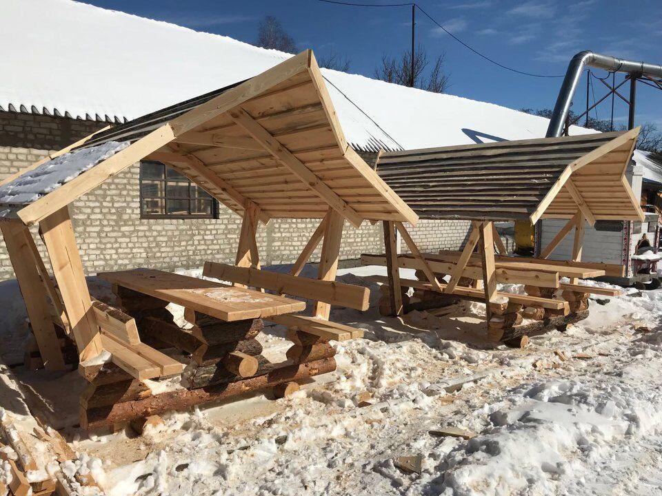 В Киеве подготовили домики для пернатых