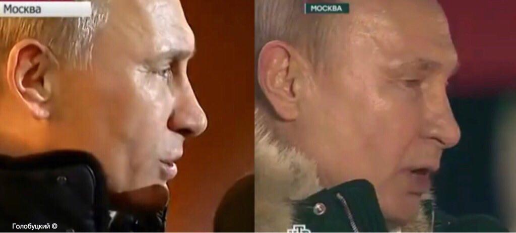 Почти мумия: президент РФ поразил изменившимся лицом