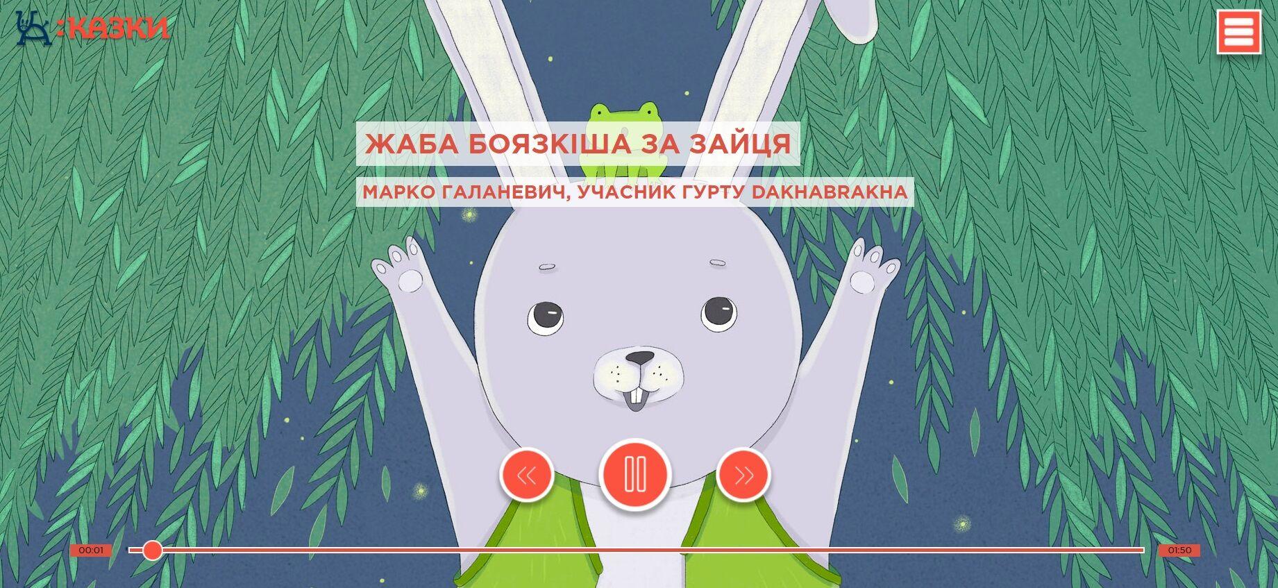 У мережі з'явились українські аудіоказки, начитані відомими артистами