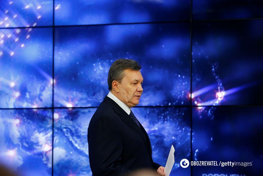 Лист Путіну і окупація: що сказав Янукович