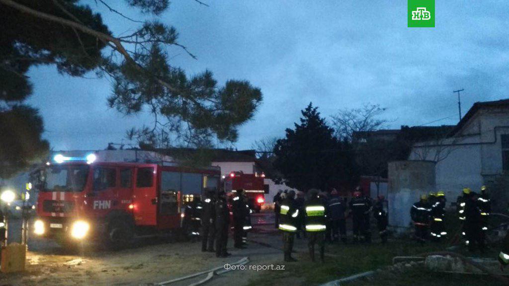 У Баку 24 пацієнта наркодиспансеру згоріли заживо