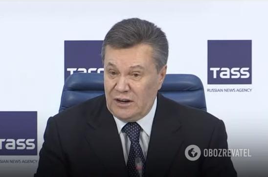 Війна на Донбасі: Янукович знайшов винних