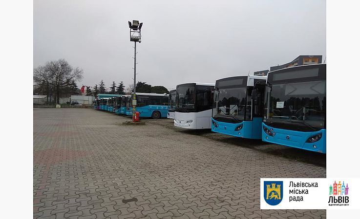 """З камерами і """"Євро-6"""": Львів має намір закупити турецькі автобуси"""