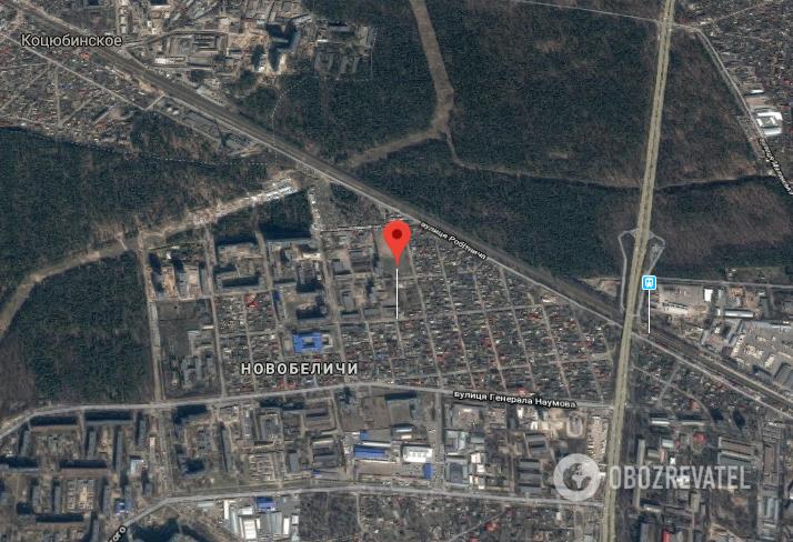 Випадок стався на вул. Рахманінова на житловому масиві Новобіличі