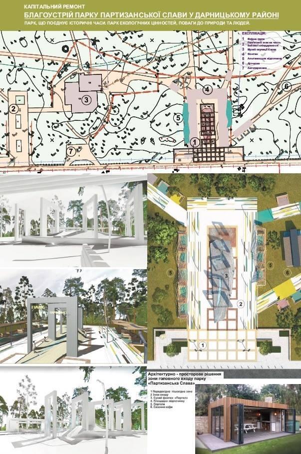 Арки-фонтаны и вход-лабиринт: каким будет парк Партизанской Славы