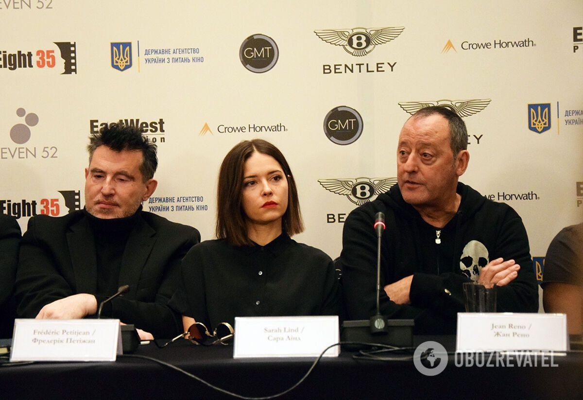 Фредерік Петіжан, Сара Лінд і Жан Рено