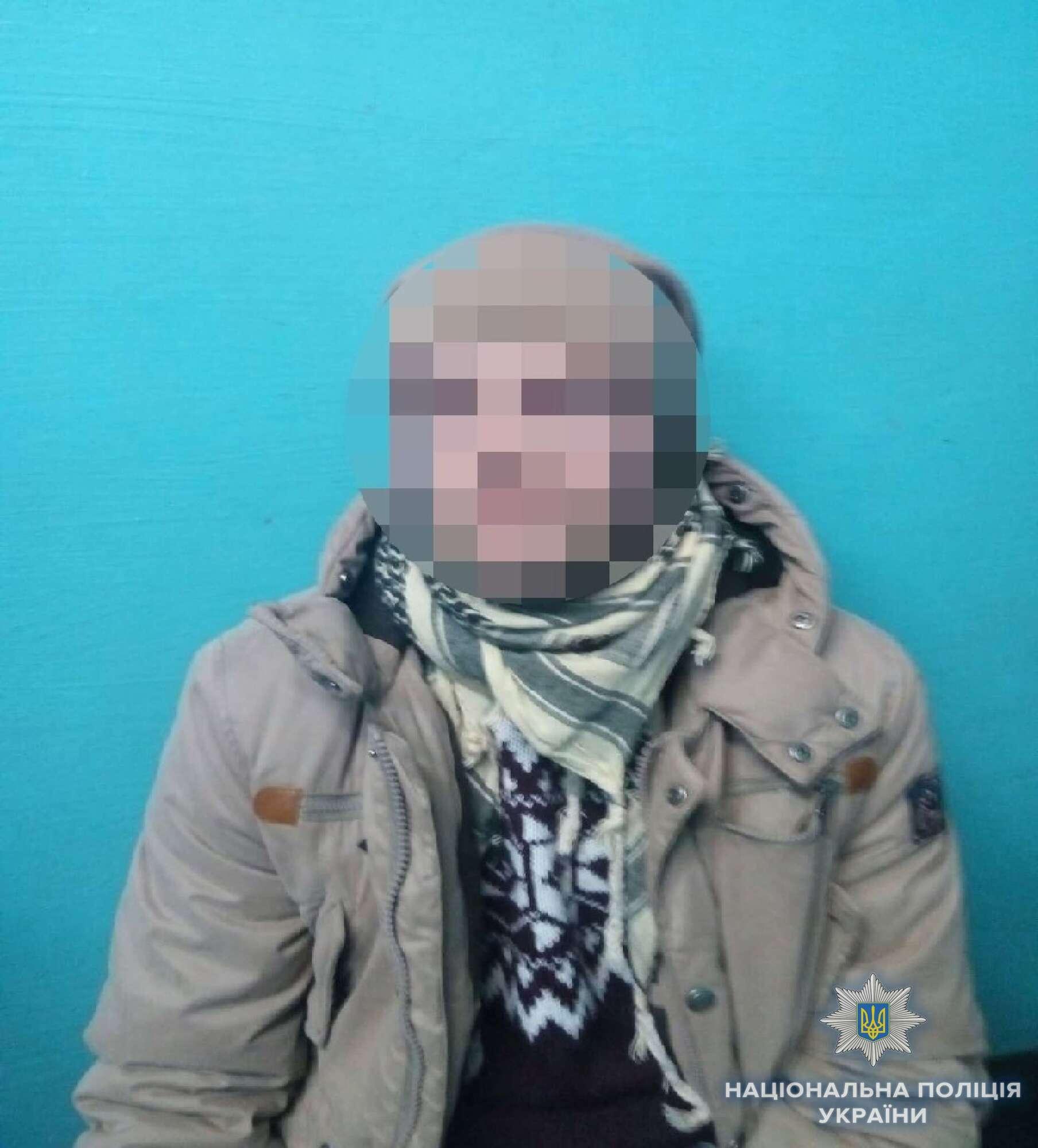 У Києві затримали чоловіка з вибухівкою