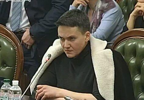 Комітет Ради дозволив арешт Савченко