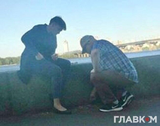 Жгли инструкции? Всплыли фото Савченко с Рубаном