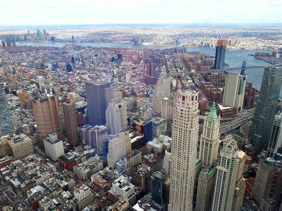 Нью-Йорк з висоти
