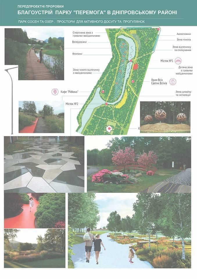 """Будинок садівника і workout-майданчики: як зміниться парк """"Перемога"""""""