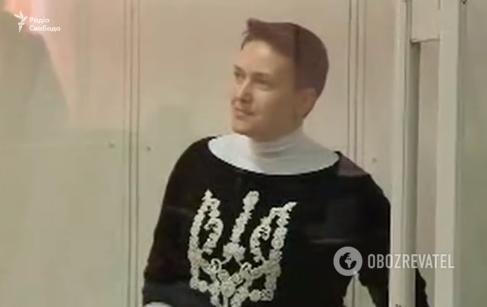 Савченко доставили в суд: первые фото