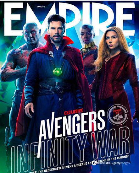 Элизабет Олсен с коллегами на обложке журнала Empire
