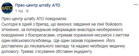 На Донбасі загинув український воїн: всі подробиці