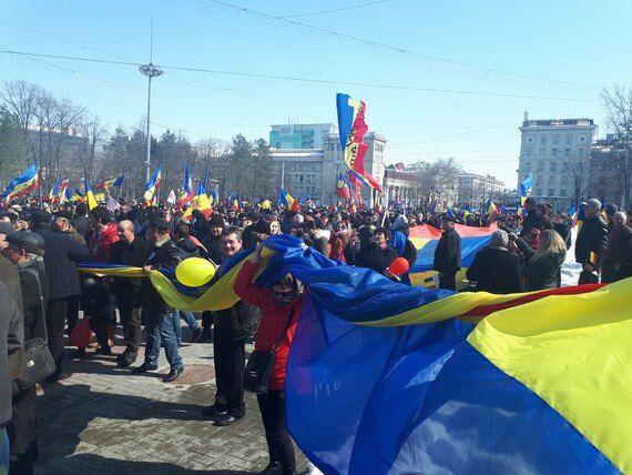 Мітинг в Молдові