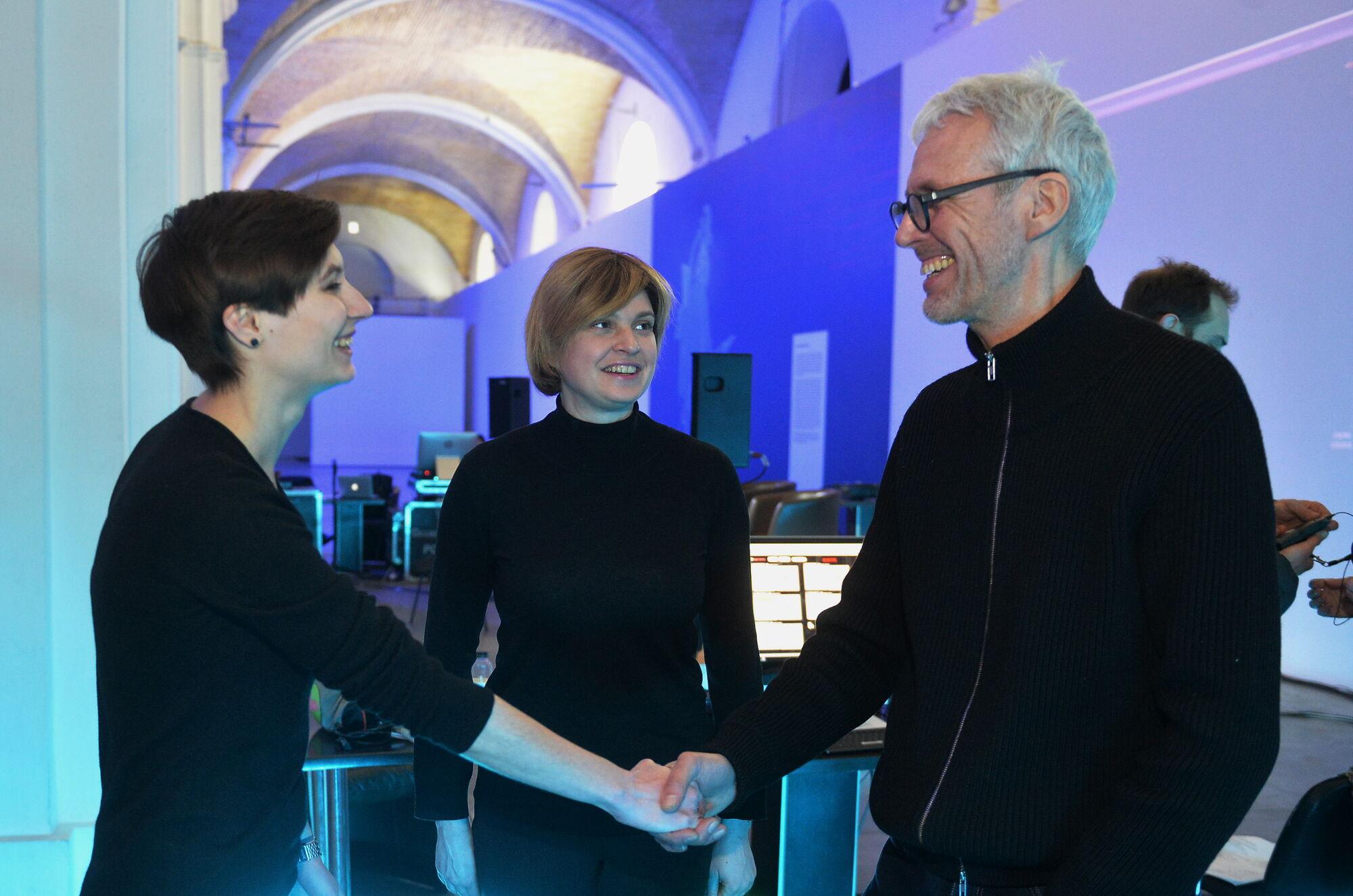 Ложкин привез в Украину инновационный бельгийский театр