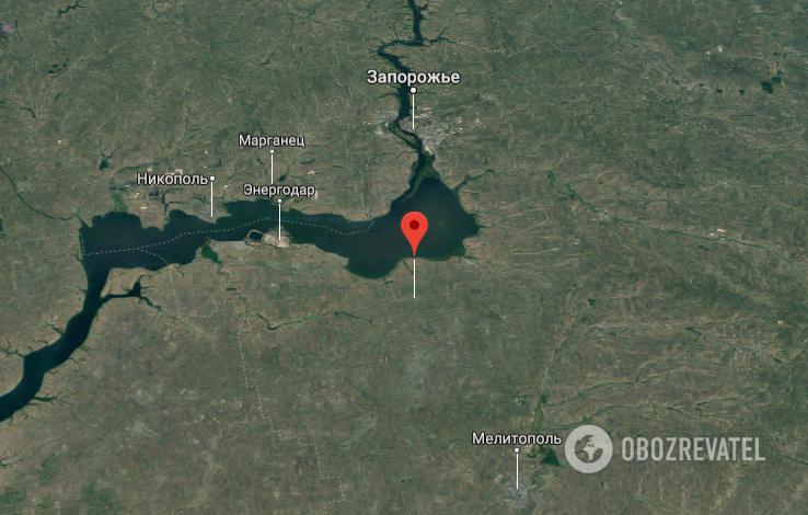 ДТП сталося біля с. Орлянське