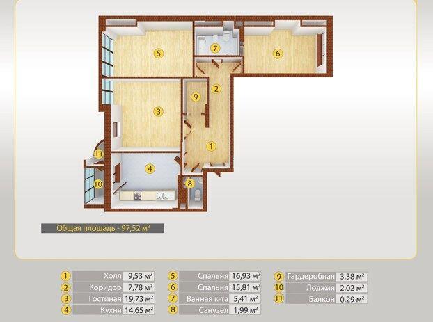Место, безопасность и метраж: какие квартиры интересуют покупателей бизнес-класса