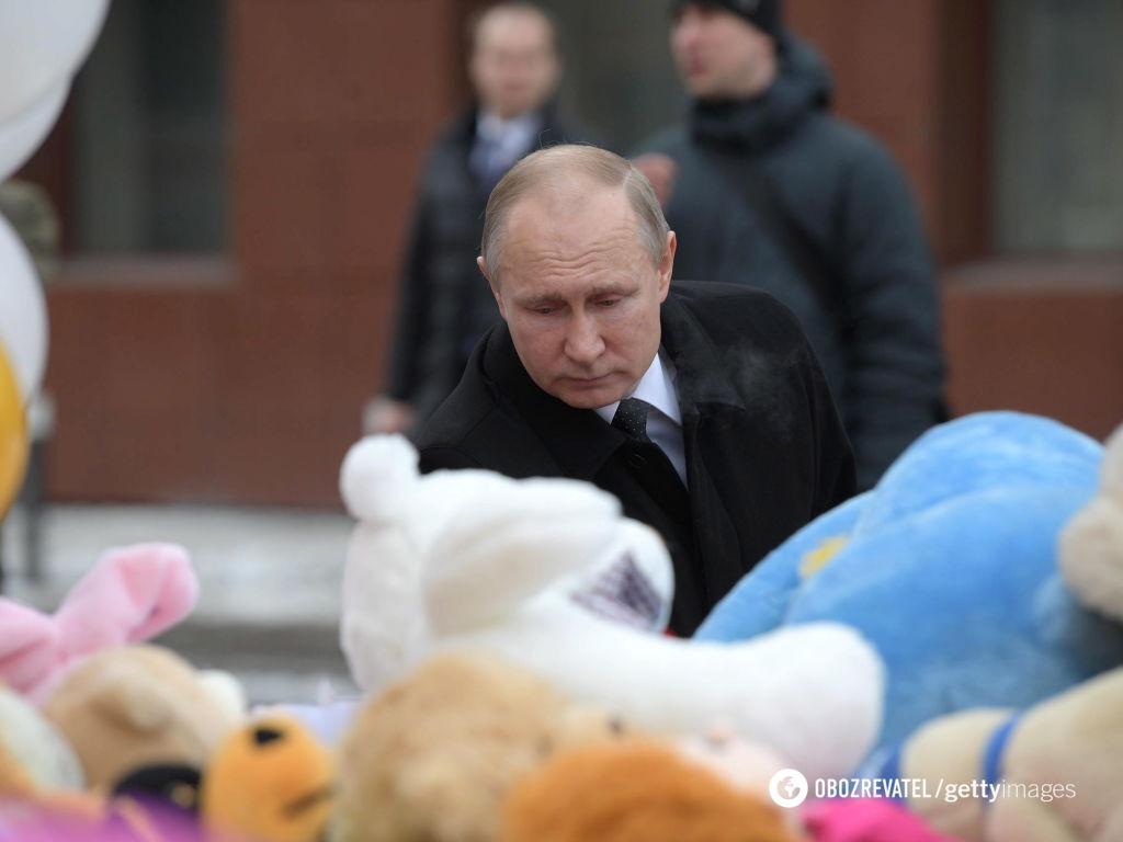 """""""Боевые действия?"""" Путин нашел причины пожара в ТЦ"""