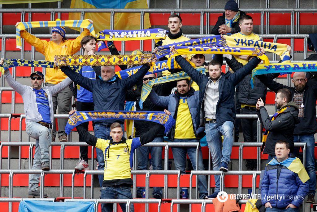 Сборная Украины по футболу добыла красивую победу над Японией