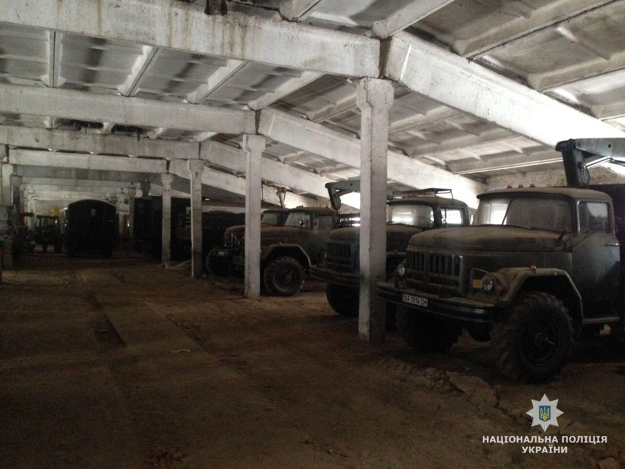 Поки йде війна: на Житомирщині знайшли вкрадену техніку